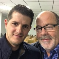 The essential ingredient for accelerating church plating is church planters who are passionate about seeing new Christian fellowships established such as Christian (left) who is planting a church in Asturias, in the North of Spain.